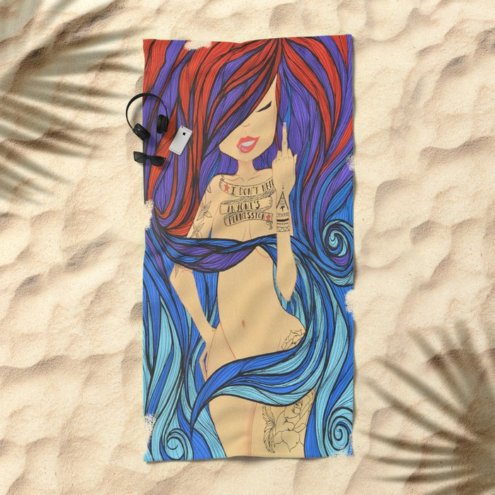 Or Approval Beach Towel