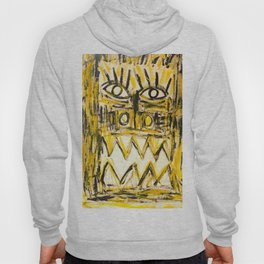 Masque Jaune by Johnny Otto Hoody