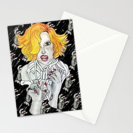 Scary Monster Stationery Cards