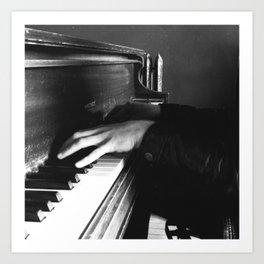 Piano Man by Shane J Cottle Art Print