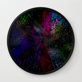 Concept abstract : Color cicer Wall Clock