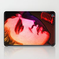 elvis presley iPad Cases featuring Elvis Presley- Pop art by sarvesh