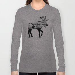 THE MOOSE AND THE BEAR Long Sleeve T-shirt