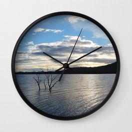 Hume Weir Wall Clock