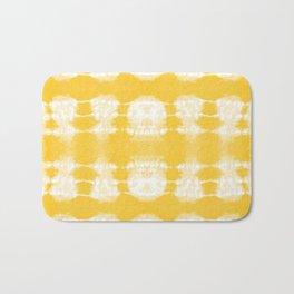 Shibori Jellies Yellow Bath Mat