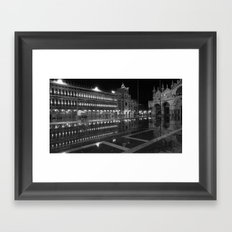 Liquid Venice Framed Art Print