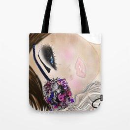 Beauty Buccaneer Illustration Tote Bag
