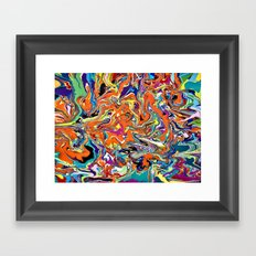 Psychedelic Dream Framed Art Print