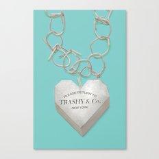 Trashy & Co. Canvas Print