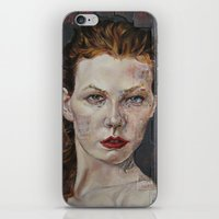 poker iPhone & iPod Skins featuring Poker face by Charles Ellison
