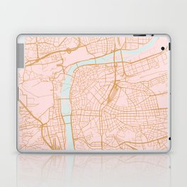 Prague map Laptop & iPad Skin