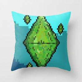 Sims Plumbob Throw Pillow