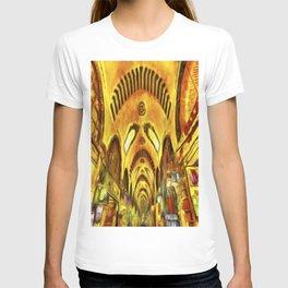 Spice Bazaar Istanbul Van gogh T-shirt