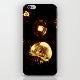 Jelly Fish (Red edition) iPhone Skin