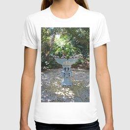 Naples Birdbath- vertical T-shirt