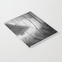 The Dark Forest (B&W) Notebook