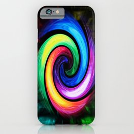 Abstract Perfection - Colorful iPhone Case