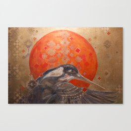 Visions of the Kingfisher Canvas Print