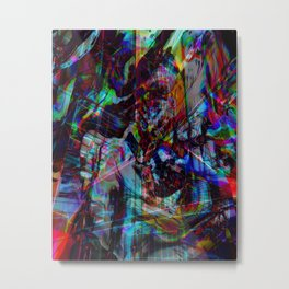 Future City Metal Print