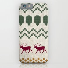 Holiday Sweater Slim Case iPhone 6s
