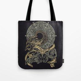 wayangan wayang mural etnic design Tote Bag
