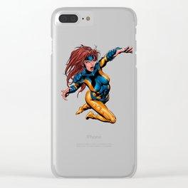 Jean, Comics Clear iPhone Case