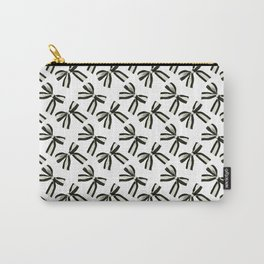 Black and white bows Carry-All Pouch