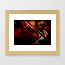 Lacrimosa Violinist Framed Art Print