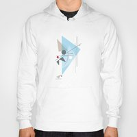 kandinsky Hoodies featuring Everything Starts with a Dot by Amy Newhouse