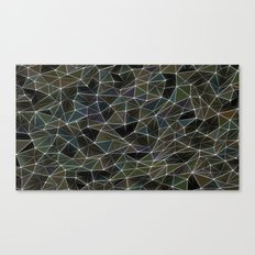 Abstract Digital Waves Canvas Print