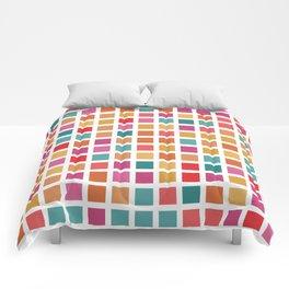 City Blocks - Sunrise #910 Comforters