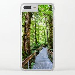Rainforest Gallery, Warburton, Victoria Clear iPhone Case