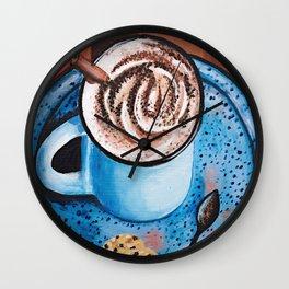 Cappucino Time Wall Clock