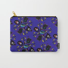 pop pattern_heavy metal Carry-All Pouch