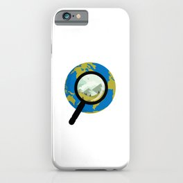 Into the World iPhone Case