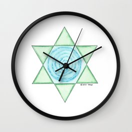 CLEANSING POOL Wall Clock