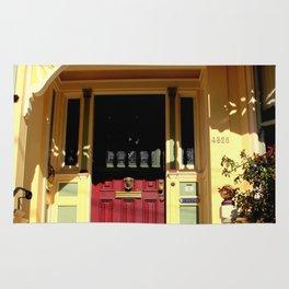 Stage Door - 1889 - No Soliciting Rug