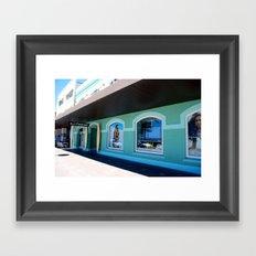 surf shop Framed Art Print
