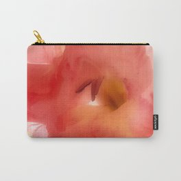 Soft Red Gladiola Carry-All Pouch