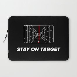 Stay on target Laptop Sleeve