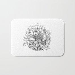 Swing (3D papercut) Bath Mat