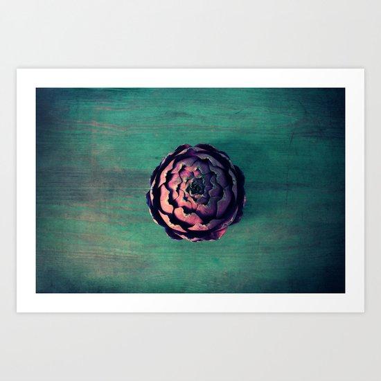 carciofo Art Print