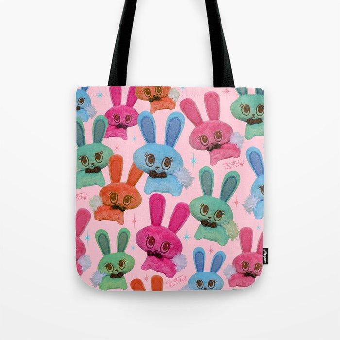 Cute Fluffy Bunnies Tote Bag