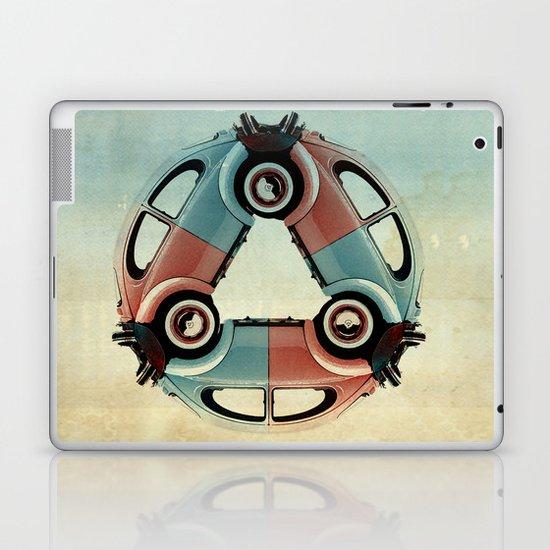 back end triangle - Bug Laptop & iPad Skin