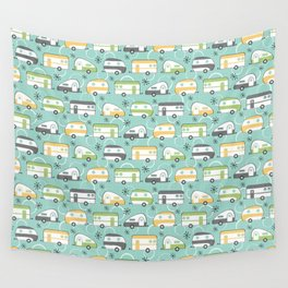 Happy Campers Wall Tapestry
