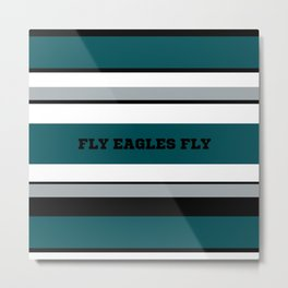 Fly Eagles Fly Philadelphia Metal Print