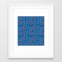 cacti Framed Art Prints featuring Cacti by TKCreative