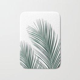 Tropical Palm Leaves #2 #botanical #decor #art #society6 Bath Mat