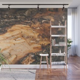 The Log Wall Mural