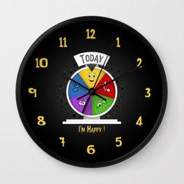I am Happy Wall Clock